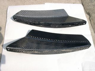 Mitsubishi Lancer Evolution 4 CN9A Carbon Bumper's Canards EVO 4 JDM