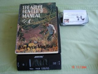 Treasure Hunters Manual 6 by Karl Von Mueller Metal Detector