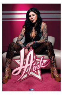 Kat Von D   LA Ink * Poster * Tattoo Body Art * Brand New