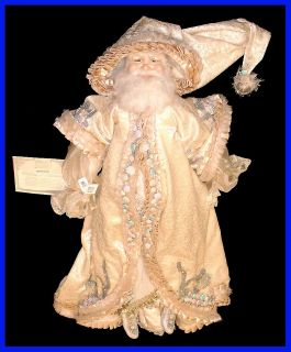 Katherines Collection 33 Christmas Collectors Doll Santa Frost by