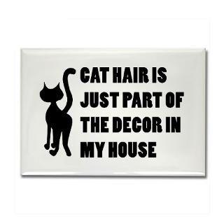 Funny Cat Lover Gift Rectangle Magnet for $4.50