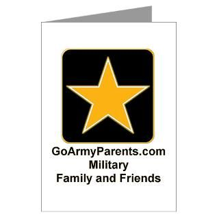 Greeting Cards (Pk of 10)  Go Army Parents Gear  GoArmyParents Gear