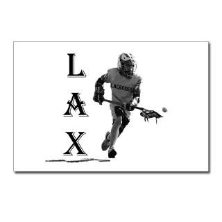 LACROSSE Logo   Postcards (Package of 8) for $9.50