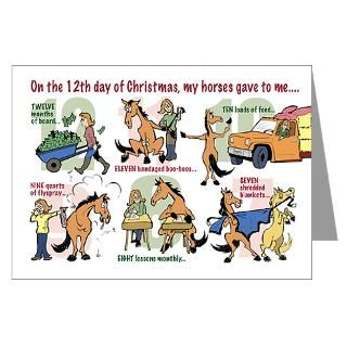 12 Days Of Christmas Greeting Cards  12 Days of Christmas Cards (10