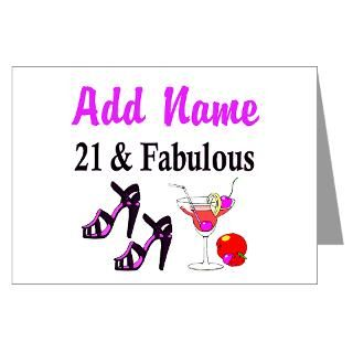 Happy 21St Birthday Greeting Cards  Buy Happy 21St Birthday Cards