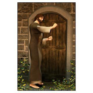 Jesus Knocking at the Door   23 X 35