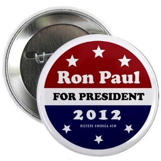 Gifts  Buttons  Ron Paul for President 2.25 Button