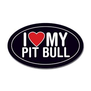 Pitbull Stickers  Car Bumper Stickers, Decals