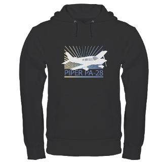 Aircraft Piper PA 28 Hoodie