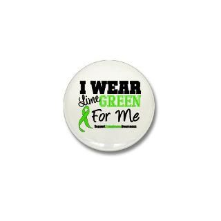 Lime Green Ribbon Button  Lime Green Ribbon Buttons, Pins, & Badges