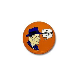 Gifts  Buttons  Dan Dunn Secret Operative 48   Mini Button