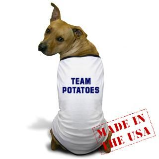 Cooking Gifts  Cooking Pet Apparel  Team POTATOES Dog T Shirt