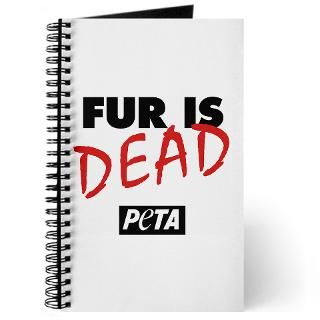 fur is dead journal $ 12 49