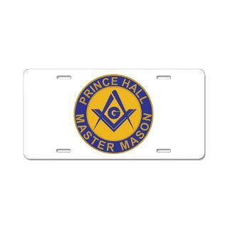 Prince Hall License Plate Covers  Prince Hall Front License Plate