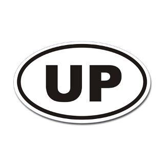 up upper penninsula euro oval sticker $ 4 49