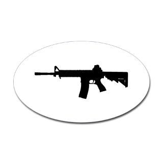 M4 Rifle Stickers  Car Bumper Stickers, Decals