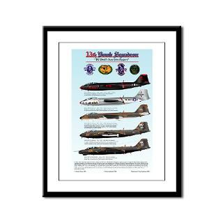 13th Bomb Squadron B 57 Framed Panel Print