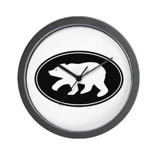 Grizzly Bear Clock  Buy Grizzly Bear Clocks