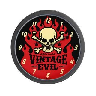 Tattoo Skull Clock  Buy Tattoo Skull Clocks