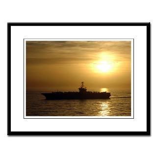 CVN 73 USS George Washington Large Framed Print
