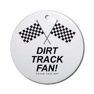 Dirt Track Racing Christmas Ornaments  Unique Designs
