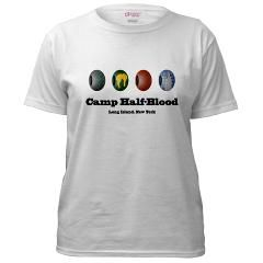 Percy Jackson Camp Half Blood Beads T Shirt by halfbloodbeads