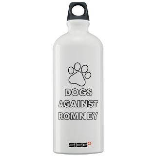 Dogs Against Romney Water Bottles  Custom Dogs Against Romney SIGGs