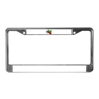 Strawberry License Plate Frame  Buy Strawberry Car License Plate