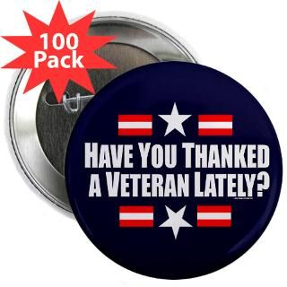 Air Force Buttons > U.S.A. Thank A Veteran 2.25 Button (100 pack