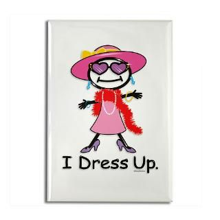 Girl Dress Up  BusyBodies Stick Figure T shirts and unique Gifts