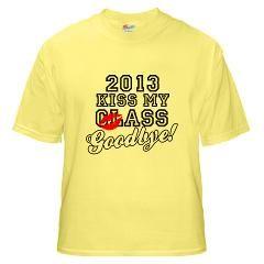 Kiss My Class 2013 T Shirt by stargazerdesign