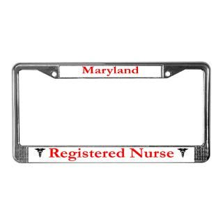 Registered Nurse License Plate Frame  Buy Registered Nurse Car