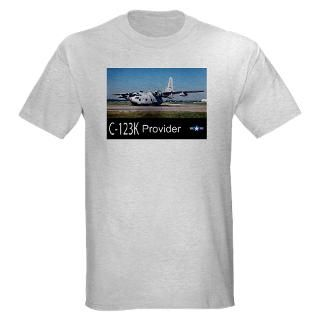 Air Force T shirts  C 123 Provider Light T Shirt