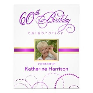 60th Birthday Party Supplies On Related To Blue Invitation