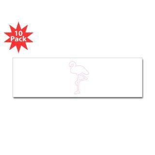 oval sticker 10 pk $ 31 49 flamingo bumper sticker 50 pk $ 135 99