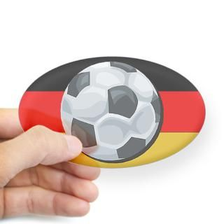 German Soccer Stickers  Car Bumper Stickers, Decals