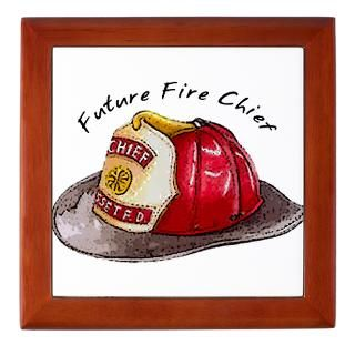 Fire Chief Keepsake Boxes  Fire Chief Memory Box