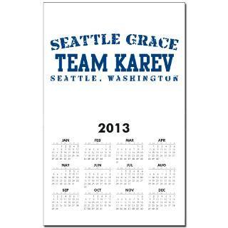 Team Karev   Seattle Grace Calendar Print