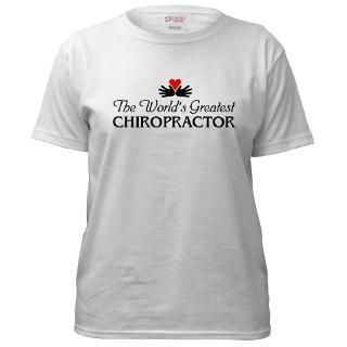 Womens White T shirts  Chiropractic By Design
