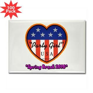 party girl usa spring break rectangle magnet 100 $ 151 99