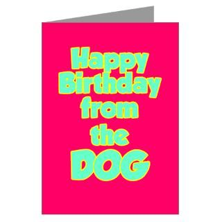 Add a card to your purchase Happy Birthday card from the Dog   select
