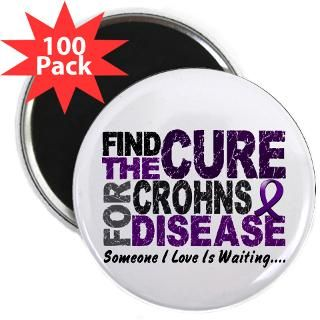 Find The Cure 1 CROHN'S DISEASE T Shirts & Gifts  Awareness Gift