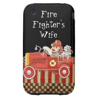Sock Monkey Fireman Fire Fighters Wife, Iphone3 iPhone 3 Tough Cover