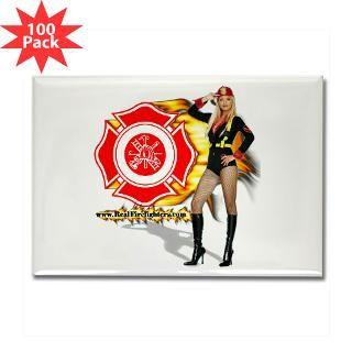 hot firefighter rectangle magnet 100 pack $ 159 99