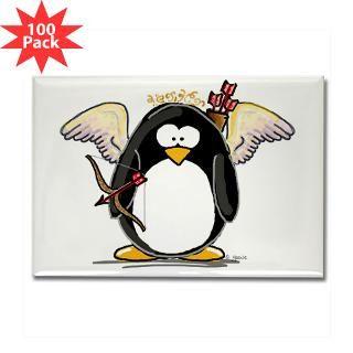 cupid penguin rectangle magnet 100 pack $ 189 99