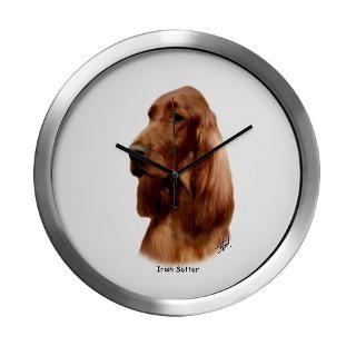 Irish Setter Clock  Buy Irish Setter Clocks