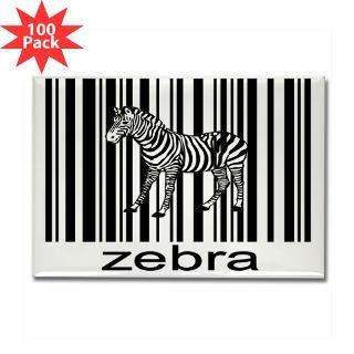 zebra rectangle magnet 100 pack $ 189 99