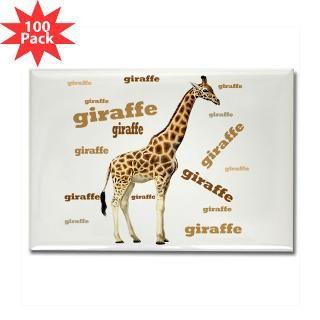 giraffe rectangle magnet 100 pack $ 189 99