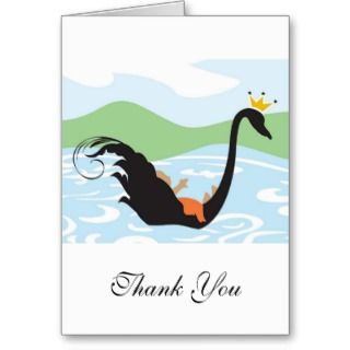 Baby Shower Thank You   Little Prince or Princess Greeting Cards