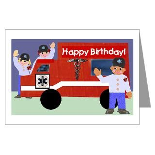 Firefighter Birthday Greeting Cards  Buy Firefighter Birthday Cards